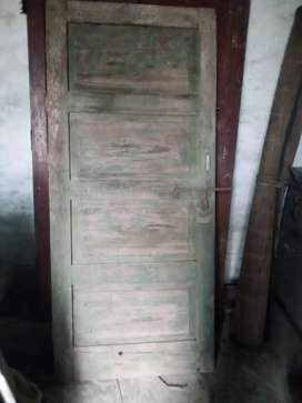 Dayar wooden Single part door 6 fit by 32 inch