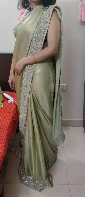 New Heavy Party wear Saree