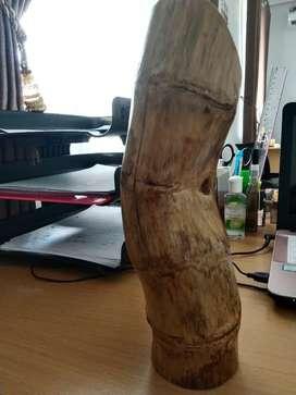 Celengan bambu tua