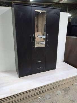 Wardrobe 3 door brand new BED'S ALMARI KITCHEN TROLLEY
