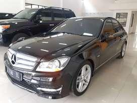 For Sale Mercedes Benz C250 AMG A/T 2012 Km 35 Ribu Istimewa
