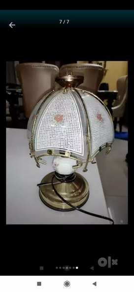 Decorative lamps in full working conditions