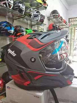 Helm MDS Supermoto Double visor
