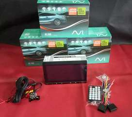 HEAD UNIT AVI MIRORLINK DESIGN JAPAN + KAMERA MUNDUR +PASANG