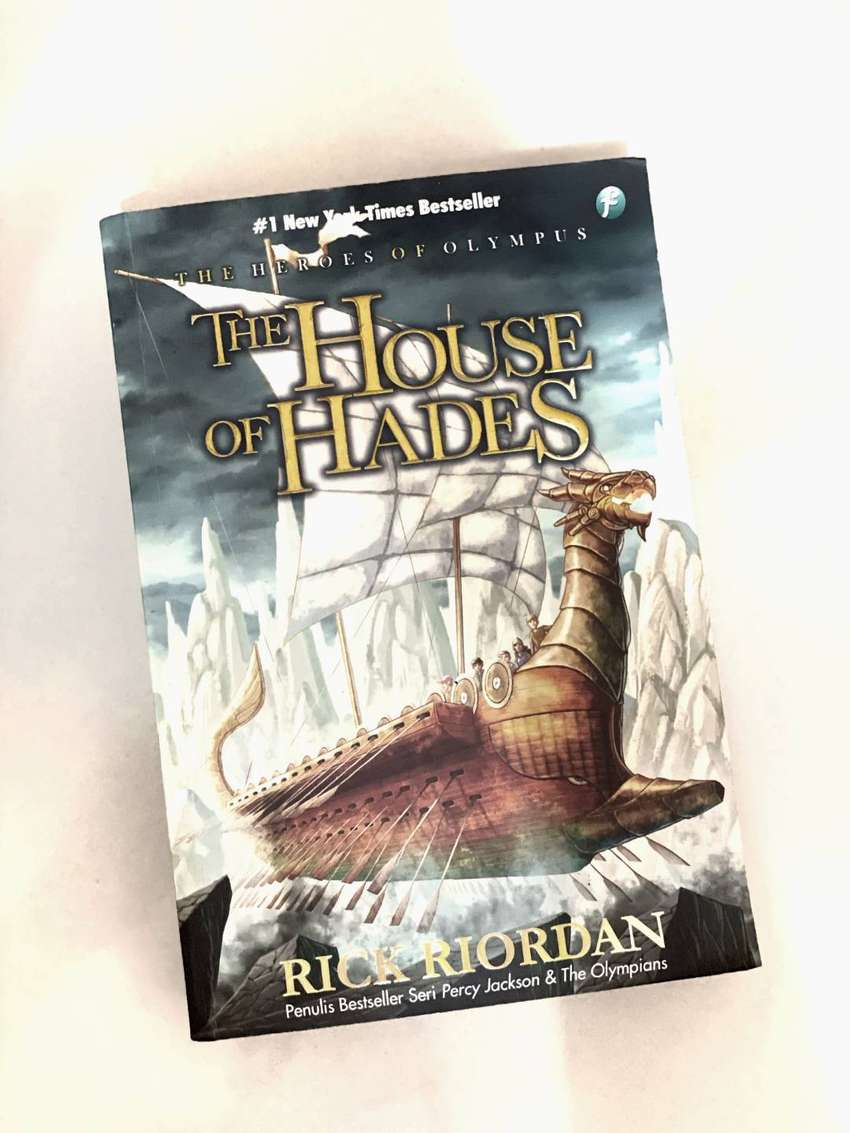 The House of Hades (The Heroes Of Olympus) by RICK RIORDAN 0