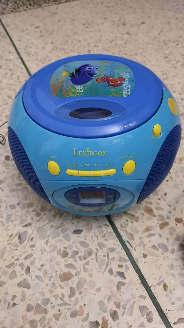 kids cd players by Disney