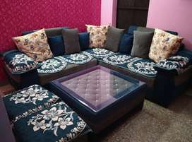 7 Seater Sofa Set with Table