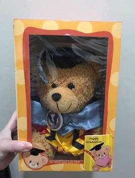 Graduation Bear with Box