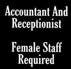 Accountant Staff Required Male And Female
