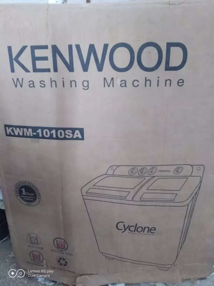 Kenwood Washing machine+dryer 0