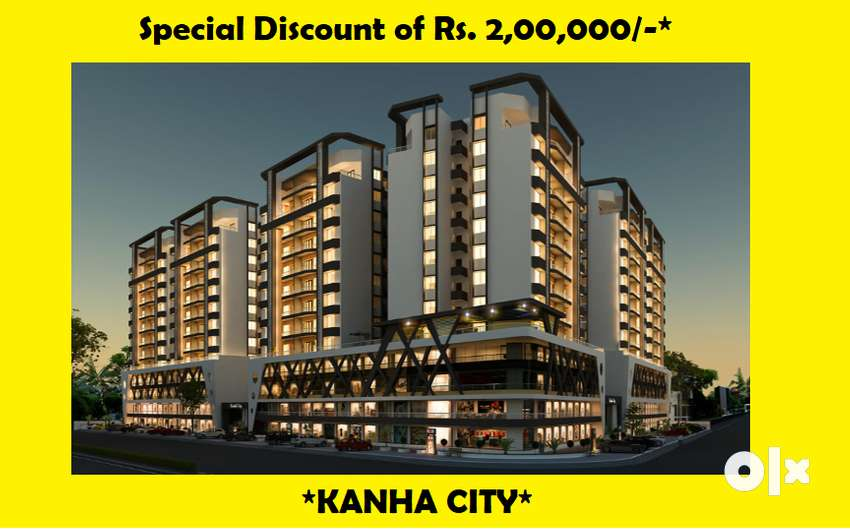 LIMITED PERIOD OFFER- RS.2LAC DISC- 2BHK FLAT-KANHA CITY 0