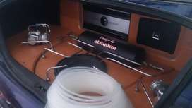 paket power subwoofer twitter audio mobil