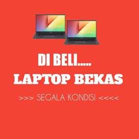 Dibeli Laptop segala Merk