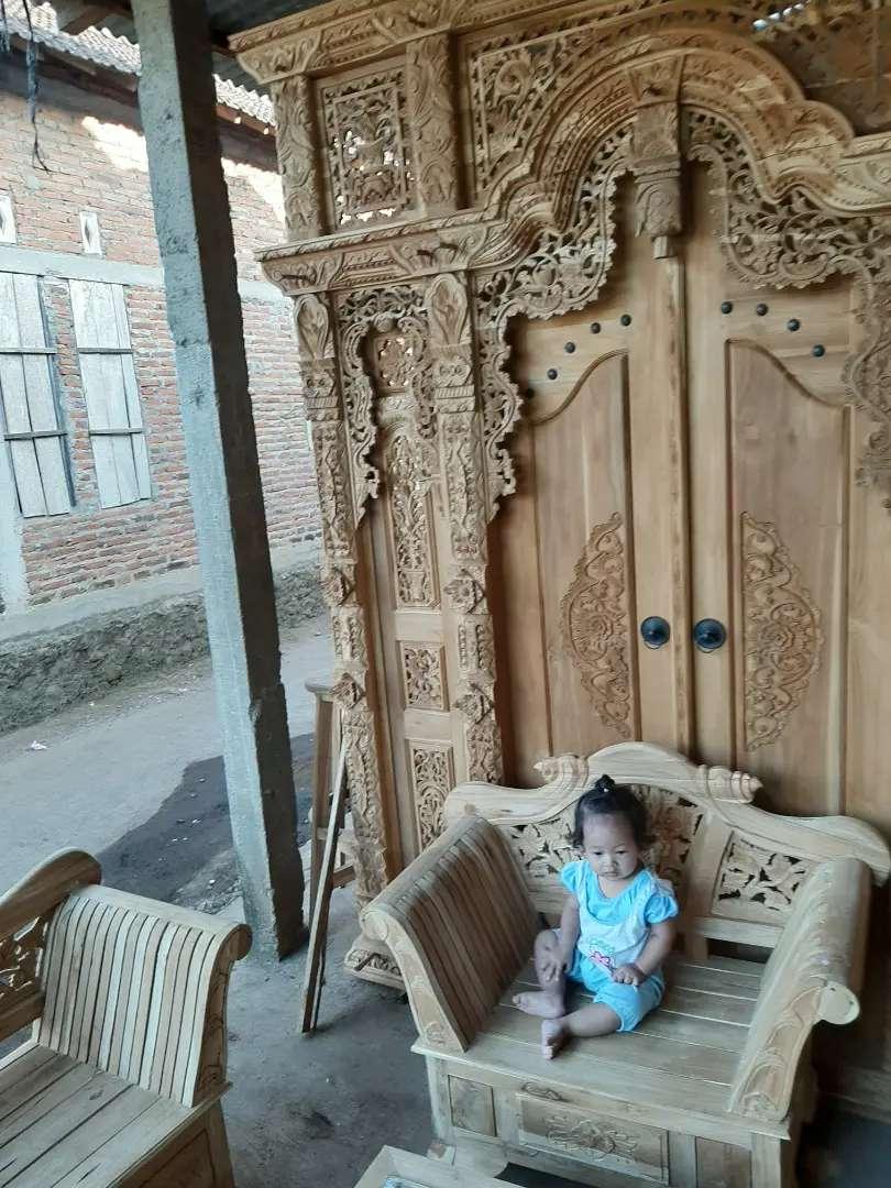 cuci gudang pintu gebyok gapuro jendela rumah masjid musholla anang