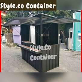 PROMO TAHUN BARU   CONTAINER SEMI BOOTH   CONTAINER USAHA FRENCHISE  