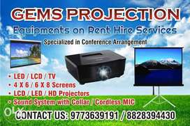 Sound System and Projector Hire Rent in Mumbai and Navi Mumbai Anytime