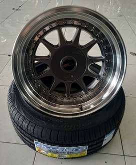 Paketan Velg Ban R16 Celong, Velg Import SNI + JWL. Bisa kredit dan TT