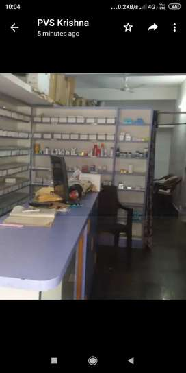 Medical shop whole sale and retail with Atm