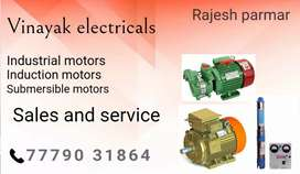 All kind of induction motor winding work