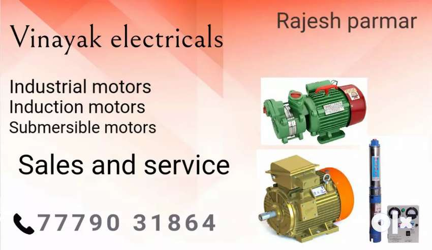 All kind of induction motor winding work 0