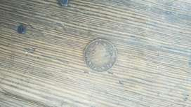 Old coin copper