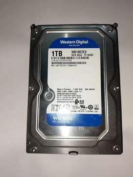 1TB HDD with Warrenty