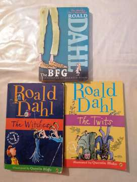 3 Roald Dahl books! In great condition and price.