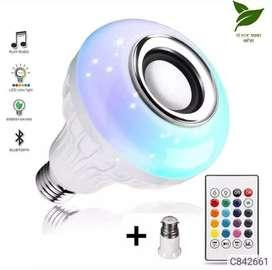 Music LED light speaker