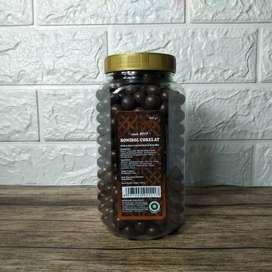 Biskuit Berbakur Cokelat Berbentuk Bola Bola Mini 250 Gram