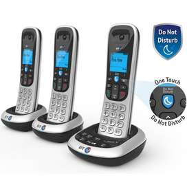 Cordless Phone Trio with Intercom  USED