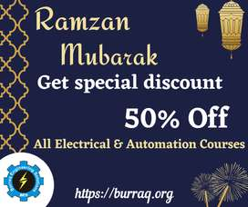 50% off all Electrical & Automation Courses