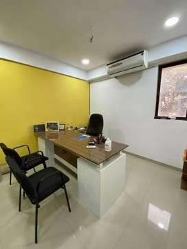 Fully furnished office at vesu vip