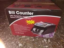 Cash money counting machine 5ooo/-