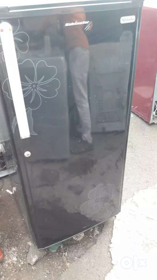 6Month warranty singeal door refrigerator 0
