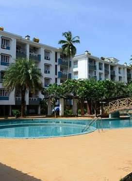 2BHK fully furnished flat for rent in Akar Excelsior Colva