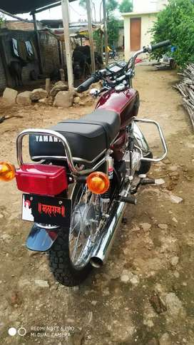 Yamha rx100 bike