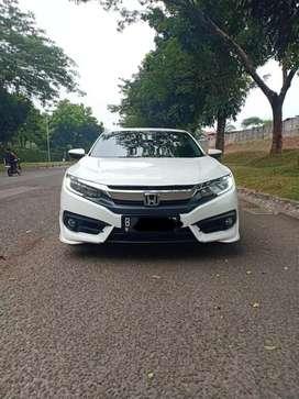 Civic turbo 1.5 prestige 2017 putih