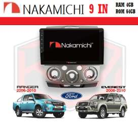 "KIKIM VARIASI*NAKAMICHI NA-3102i Android 9""RAM 4-64gb RANGER & EVEREST"
