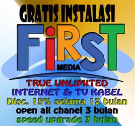 Internet Firstmedia  Wifi Kuota Unlimited