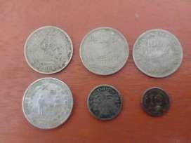 Di jual uang logam lama