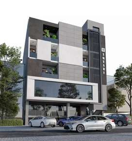 F17 sector commercial flat in installments
