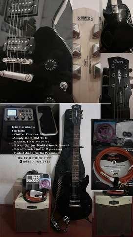 Jual gitar cort cr 50