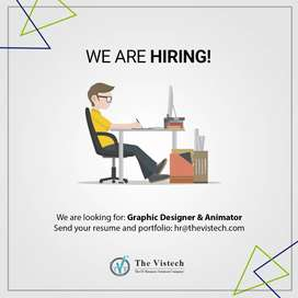 Graphic Designer and Animator Required