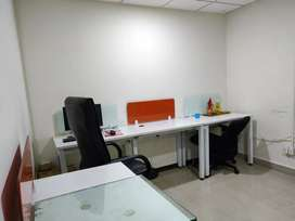1 to 40 workstations office space for rent at madhapur