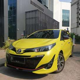 Toyota Yaris 1.5 S TRD Sportivo At Yellow 2018 New Model