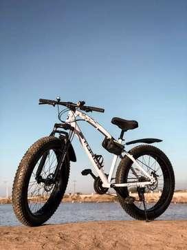 Sturdy  fat tyer  free dam  21 gear  new
