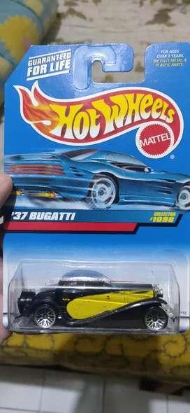 Hot wheels bugatti jadul