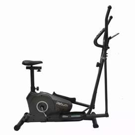 Boston sepeda statis magnetik eliptical central fitness official baru