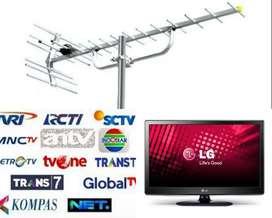 Melayani Pasang Sinyal Antena Tv Led Lcd