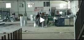Pabrik strategis akses kontainer 20 feet di batujajar